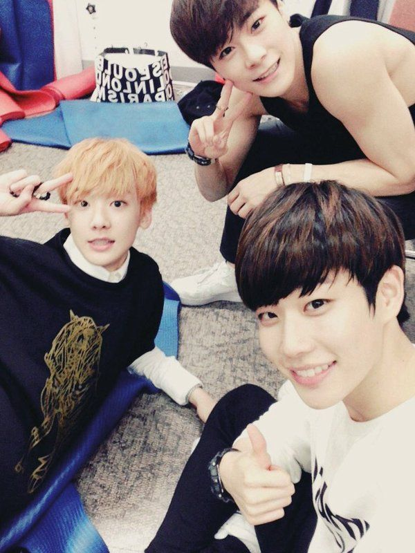 Sanha, Moonbin, MJ ♡ Never give up on the lovely things that make you happy ♡