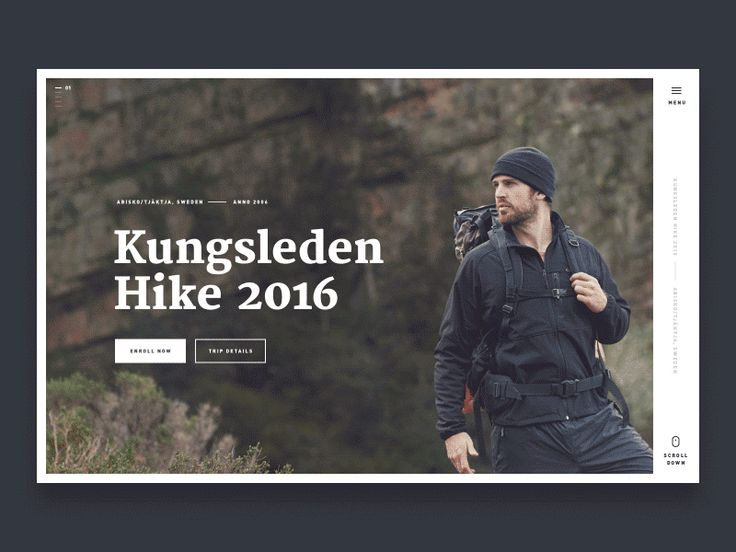 Hey guys!  Here's something I've put together for Kungsledeng Hike 2016. Clean composition, thought-out type and some motion can do wonders.  As always, comments and constructive criticism is appre...