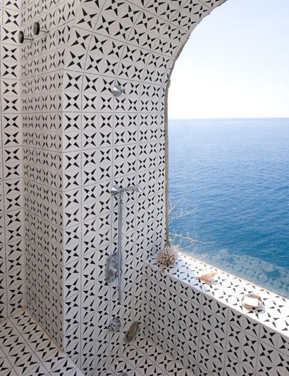 Shower with a view? yes please!