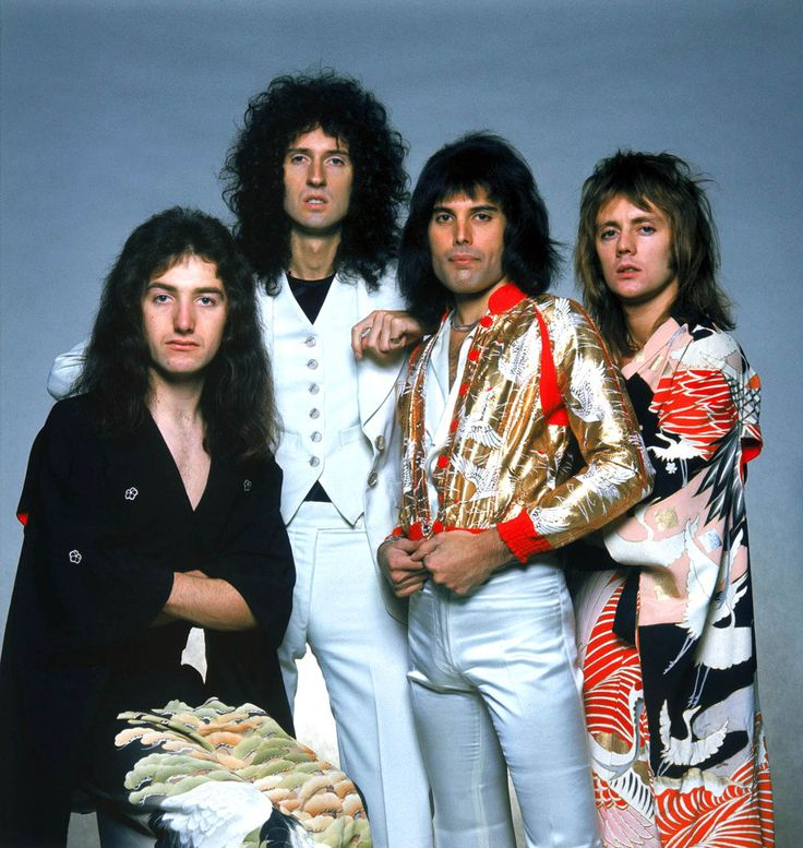 Queen, 17 April 1975, via