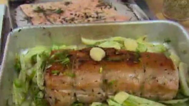 Jamie Olivers Rezept für Würzige Schweinerippchen
