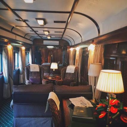"""Train life. Rovos Rail Tours is the most incredible experience!"""