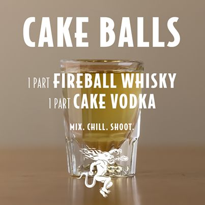 Cakeballs shot