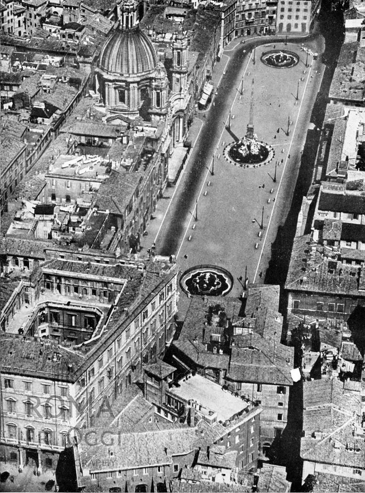 Piazza Navona  1941/1942