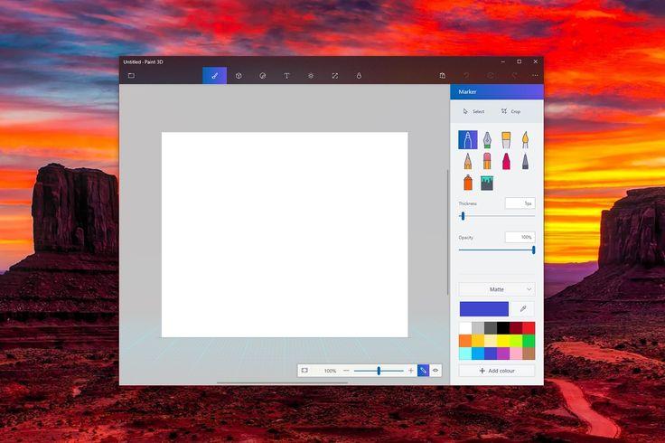 cool Microsoft's Paint 3D app gets a Project NEON update, improves File menu