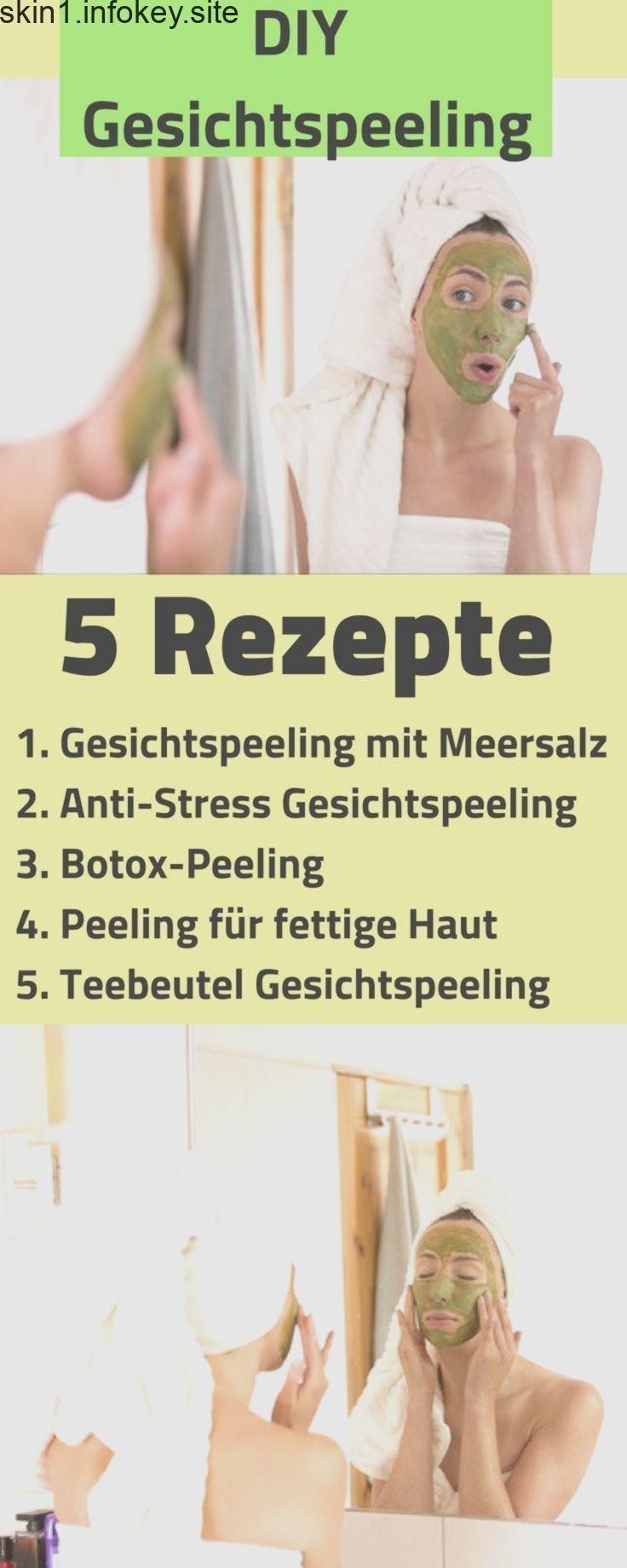 Types of Facial Peeling - 5 Easy Recipes ... -  Hautpflege-Rezepte
