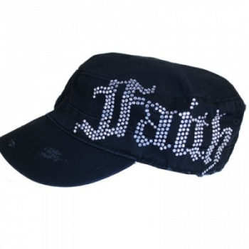 Black FAITH Hat at the Shopping Mall, $18.00 (USD)
