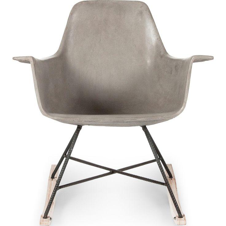 Lyon Beton Hauteville Rocking Chair | Concrete