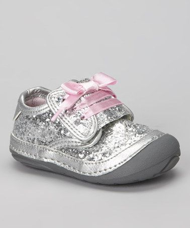Take a look at this Silver Maxden Sneaker by Stride Rite on #zulily today!