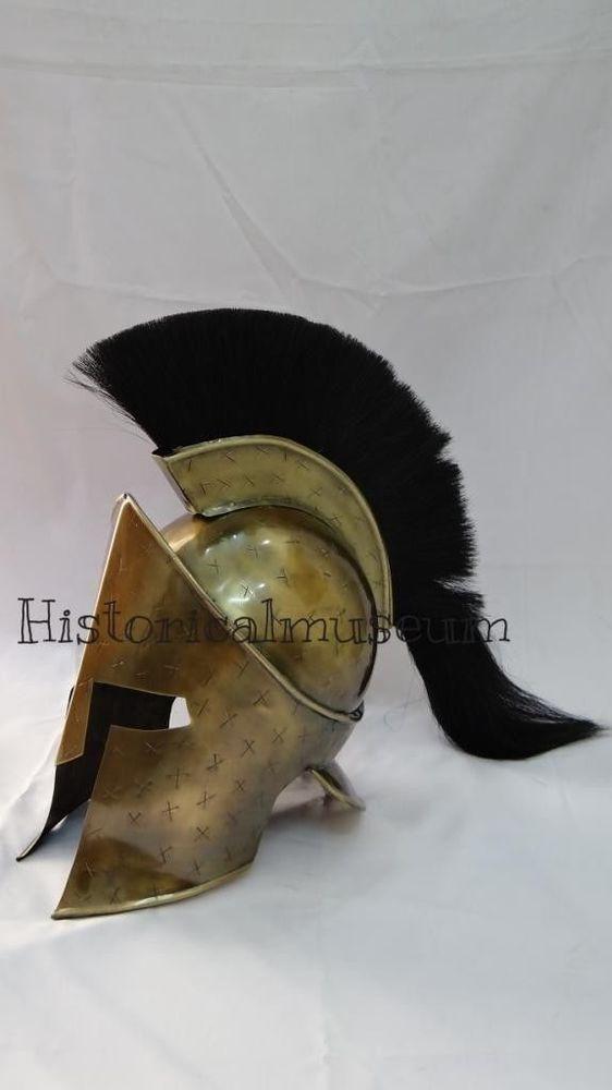 Vintage handmade 300 King Leonidas Spartan Medieval REPLICA Shield full size
