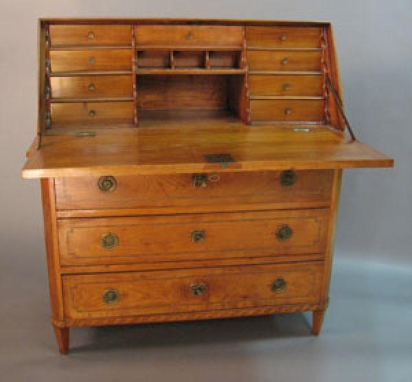 kersenhouten bureau