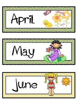 17 Best images about Cute Clipart - Calendars on Pinterest | Clip ...