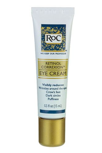 For the sensitive types, we found an anti-aging product that's oil-free but still diminishes lines and dark circles. You're welcome. RoC Retinol Correxion Eye Cream