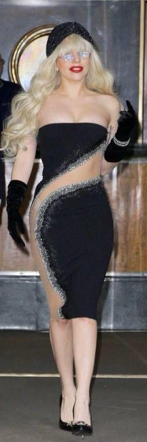 Lady GaGa in Versace#