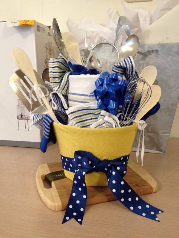 Wedding Kitchen Gift Basket : ... Pinterest Box of sunshine, Themed gift baskets and Diy gift baskets