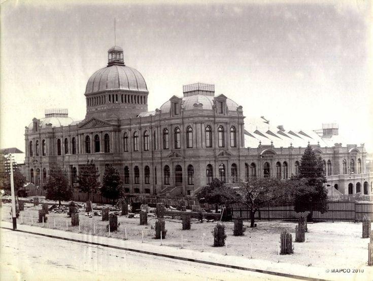 Jubilee Building, Adelaide, South Australia, c1885. Photographer: Sweet, Captain Samuel White (attrib.)