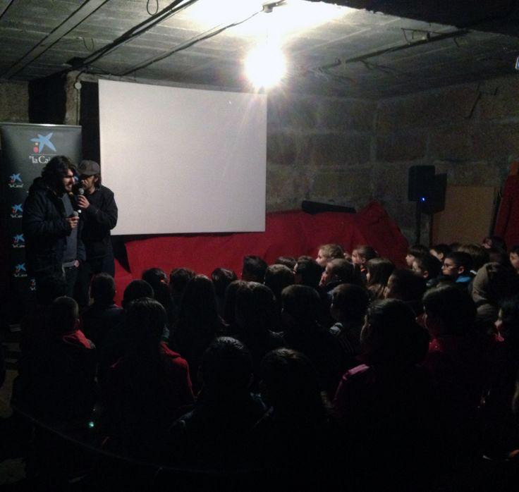 """Despois da proxección de """"O pequeno mago"""" no Festival de Cans, os asistentes tiveron a oportunidade de charlar un anaco con Roque Cameselle, director e guionista da película. #proxeccion #proyeccion #pelicula #animacion #cine #dibujosanimados #cineinfantil #charla #coloquio #cinemagalego #festivaldecans #cans2014"""