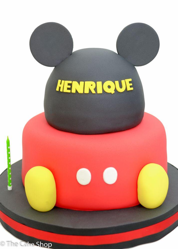 Mickey Birthday Cake Bolo de aniversário do Mickey