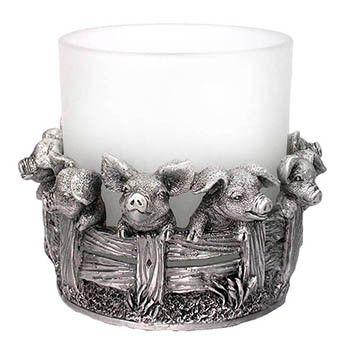 71 best pig candles holders images on pinterest candle Pig kitchen decor