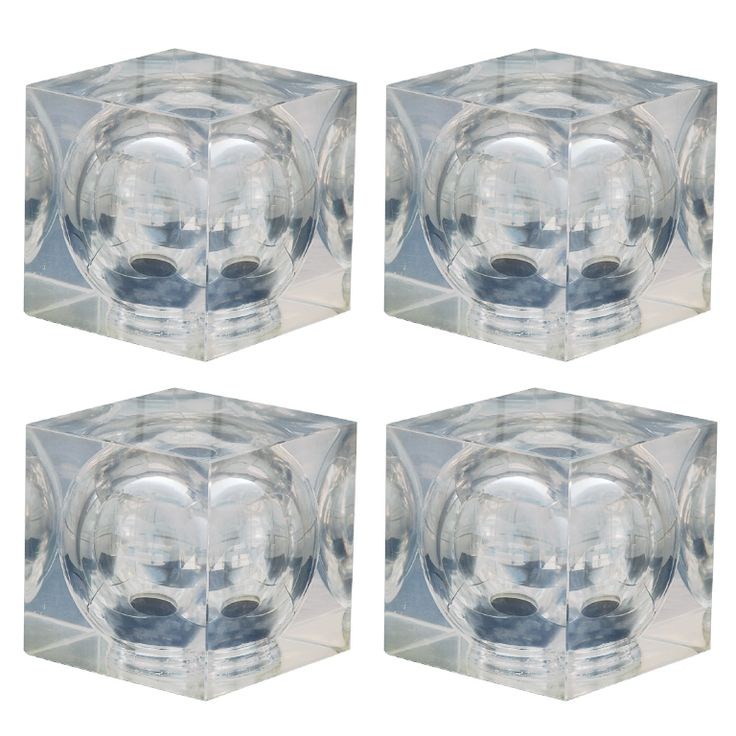 1stdibs - Set of 4 Decorative 70s Lucite Cubes explore items from 1,700  global dealers at 1stdibs.com