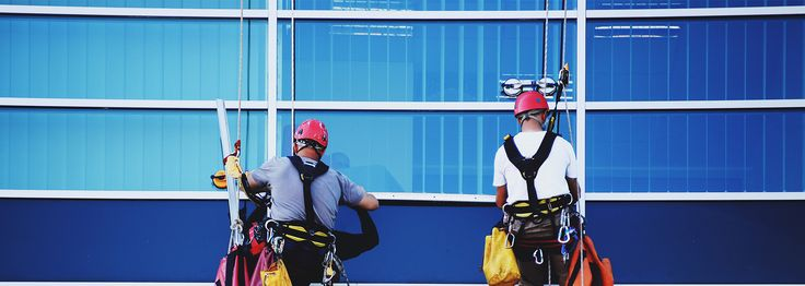 Safety Tips During #CommercialWindowCleaning -  To get the window of your property professionally cleaned hire a commercial cleaning service. Always keep these #safety tips in mind before getting the #cleaning done.