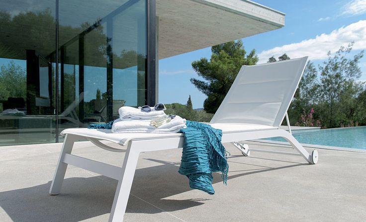 Bain de soleil Lipari blanc pas cher prix promo Bain de soleil Castorama 359.00 €