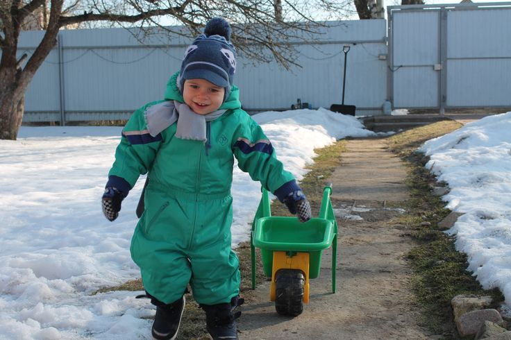 #Reima70 In the photo is my son Artyom, in overalls Reima. Photo taken in February 2014. I myself wore this suit from Reima in 1989. He is remarkably preserved!