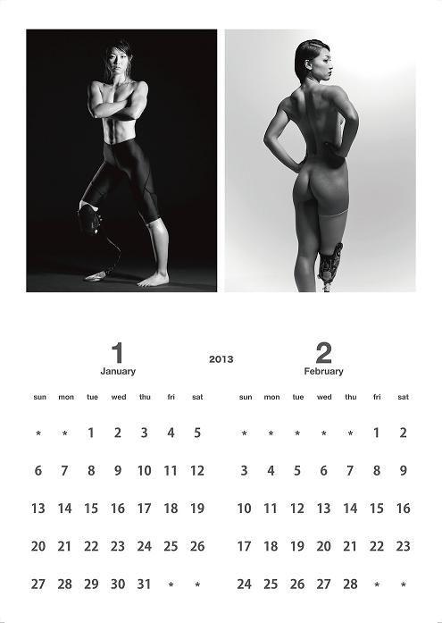 Pour pouvoir participer aux jeux olympiques à Londres, la sprinteuse paralympique Japonaise Maya Nakanishi n'a pas hésité à poser nue. La vente du calendrier devrait couvrir les frais. en vente sur AMAZON