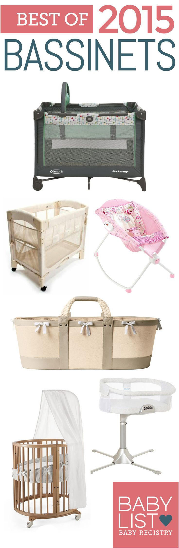 """One parent shared, """"On nights when sleep is scarce, the Halo Bassinest makes life so much less difficult and scary."""" Find more bassinet recommendations from real parents here!"""