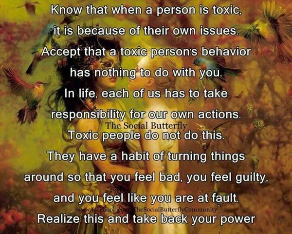 Know That When A Person Is TOXIC, It Is Because Of Their
