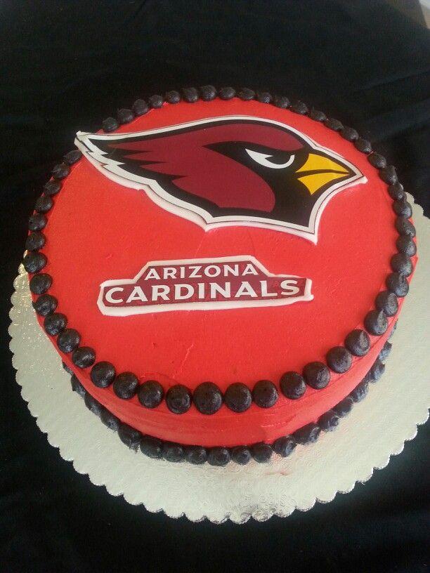 Az Cardinals Cake My Arizona Cardinals Pinterest