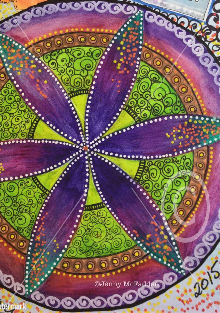 Mandala by Jenny McFadden