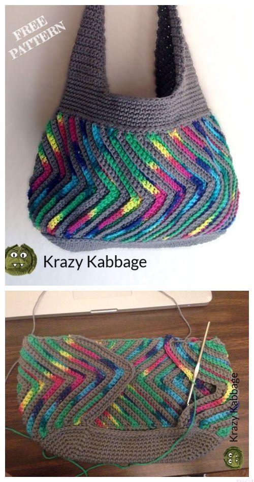 Fast-forward Chevron Purse Free Crochet Patterns