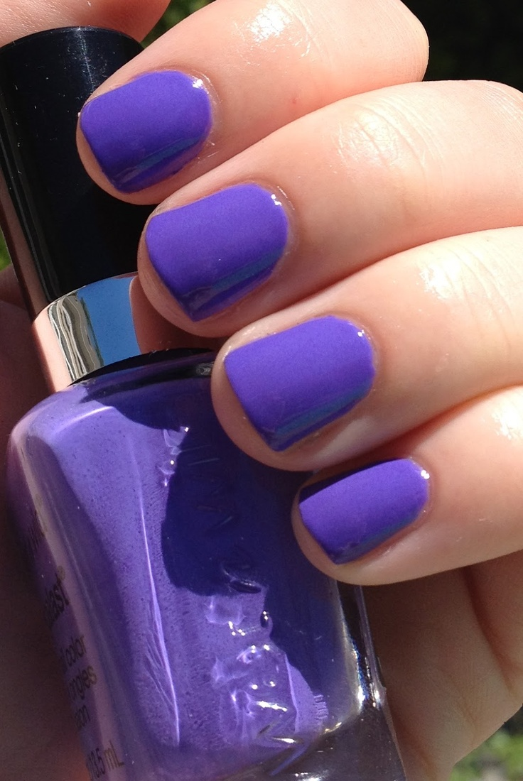 purple nail polish ideas