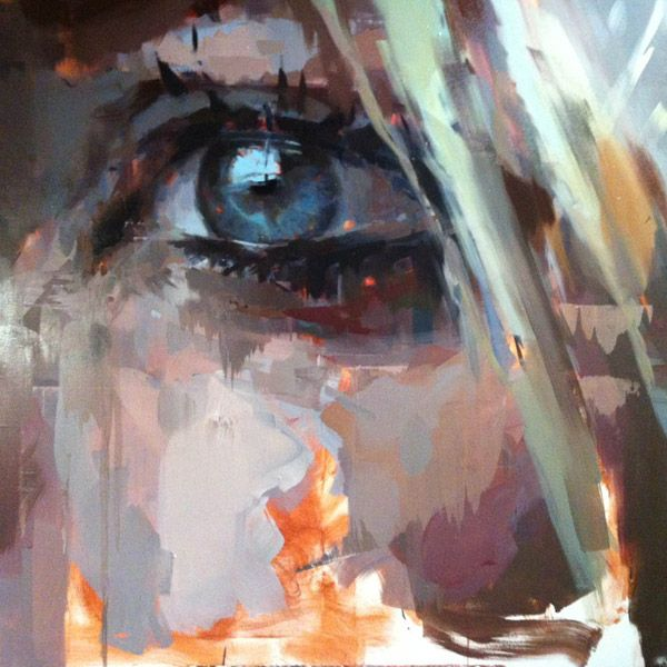Jerome Lagarrigue | artsy forager #art #paintings #eyes