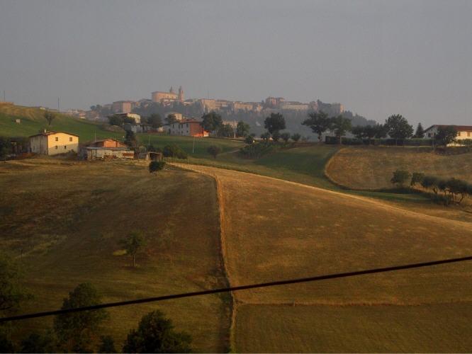 Summer afternoon #Camerino #Le Marche #Italian landscape