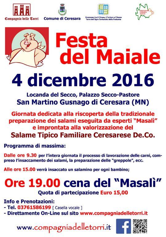 Festa del Maiale a Ceresara MN http://www.panesalamina.com/2016/52784-festa-del-maiale-a-ceresara-mn.html