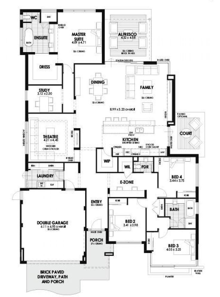 Find All Of Perth Wa Display Homes Display Villages Floor Plans On One Easy Site J House Plans Australia Single Storey House Plans Home Design Floor Plans