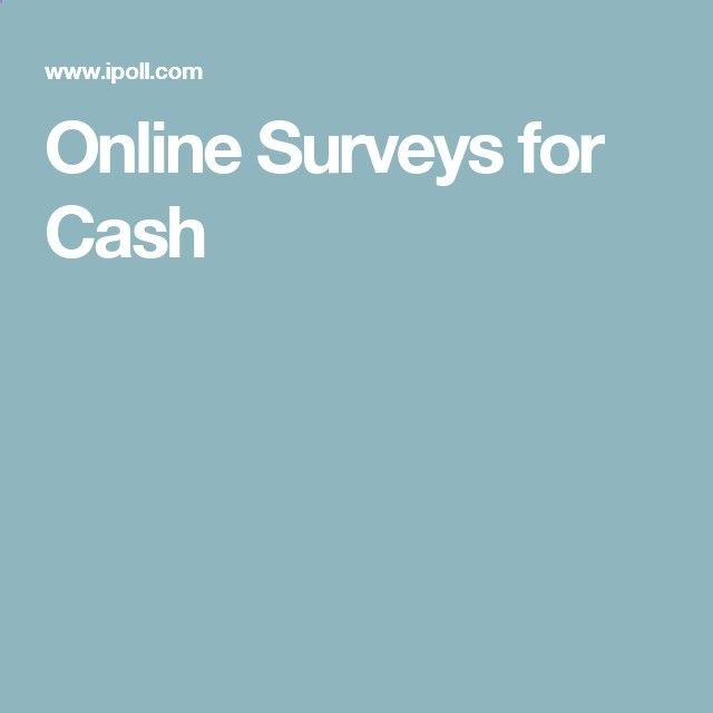 IPOLL! Surveys for cash! MANY to choose from!