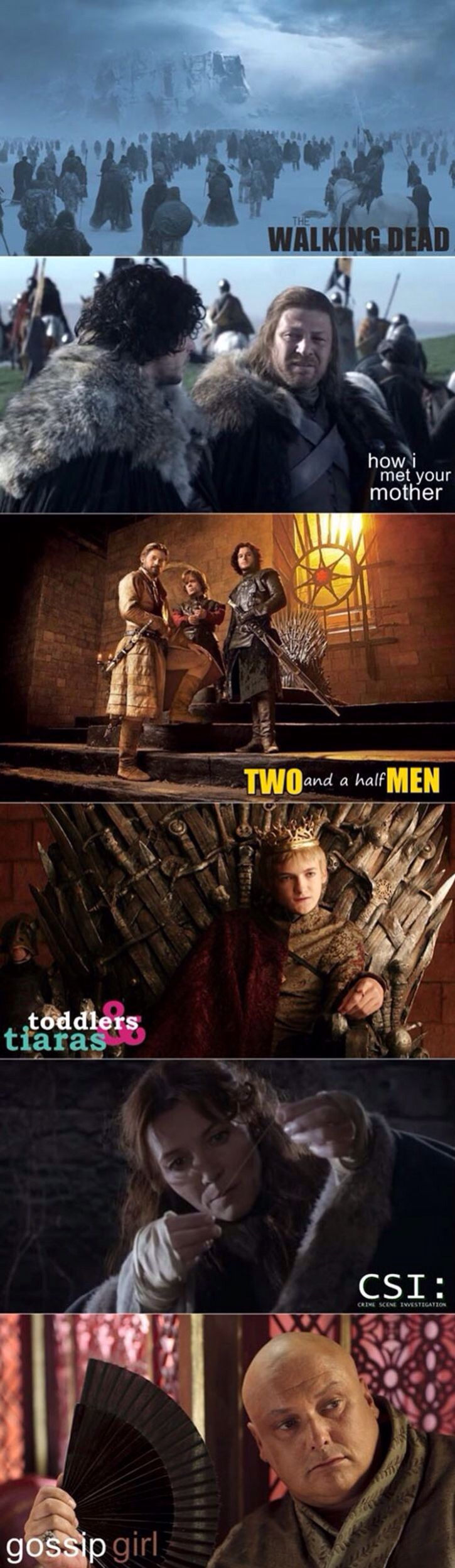 Game Of Thrones - this made me giggle