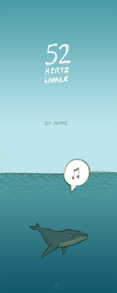 52 Hertz Whale (so alone) | Inspired by the latest post on m… | Flickr