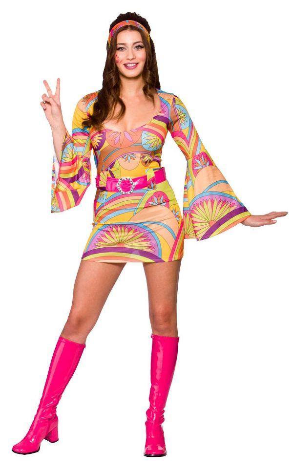 60s Hippie Halloween Makeup