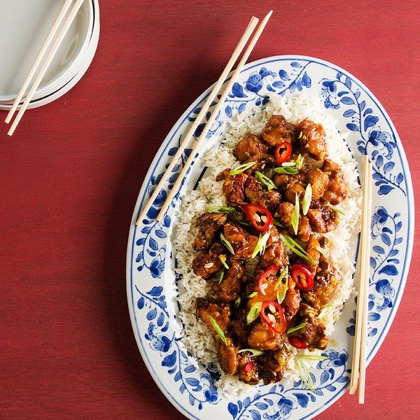 Orange chicken is a Chinese-restaurant favorite for good reason. Think of it as a Chinese-American version of fried chicken nuggets…