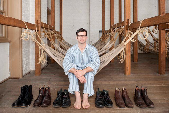 Samuel Hodgkinson photographed with items similar to those stolen by his convict ancestor William Bellamy. Photograph (c) Mine Konakci    Exhibition details: What: A convict in the family? photographic exhibition Where: Asylum, Port Arthur Historic Site and Matrons Quarters, Cascades Female Factory Historic Site Exhibiting: 4 November 2014 – 28 February 2015 Admission: Access to the exhibition is included in the cost of site entry Hours: 9.30am-4.30pm