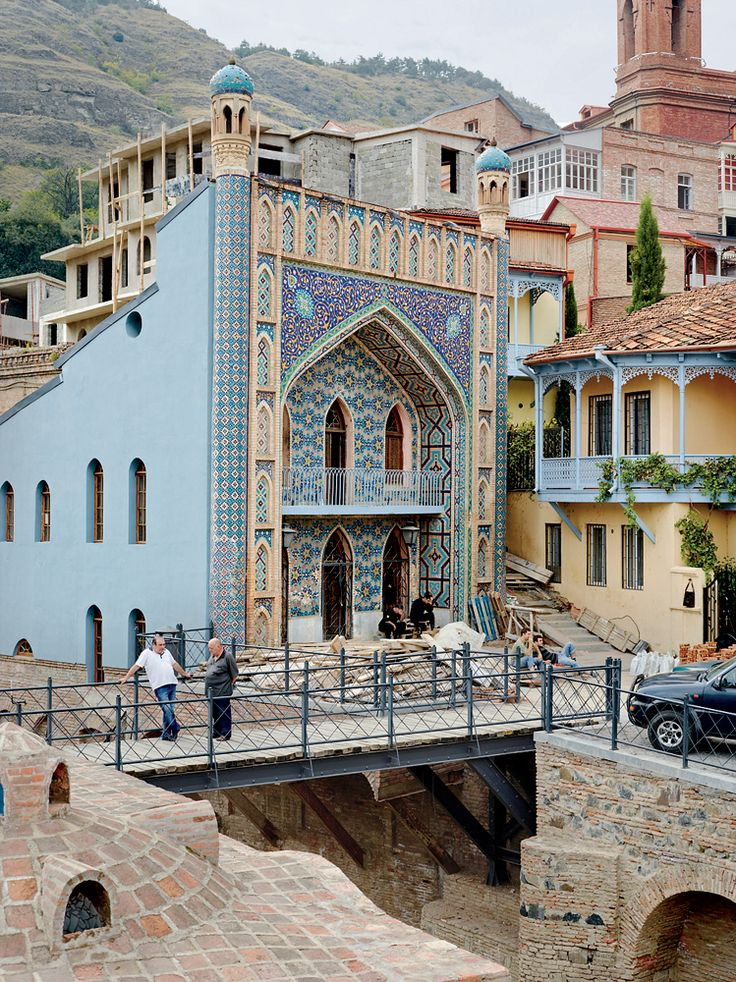 In Tbilisi, Georgia, a shiny new architectural skyline has become a political issue as much as an aesthetic one — is it slapdash commercialism ruining the culture's authentic history or a step toward a more progressive society?