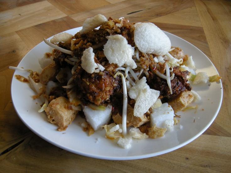 Indonesian food: homemade ketupat tahu by me :)