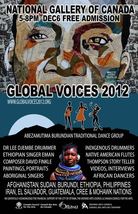 Global Voices 2012, National Gallery of Canada, December 2012