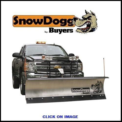 SnowDogg plows at Haydens in Sparta,NJ 07871