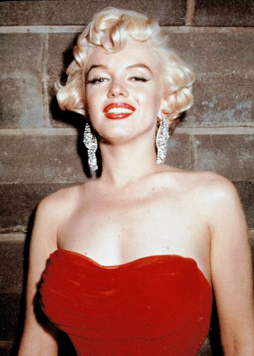 """missmonroes: """" """" Marilyn Monroe photographed at the wrap party for The Seven Year Itch, 1954. """" """""""