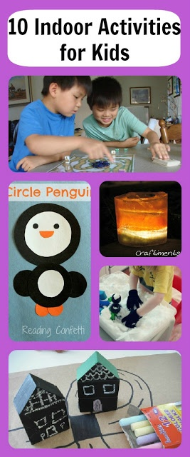 Great indoor activities for kids for the cold wint…